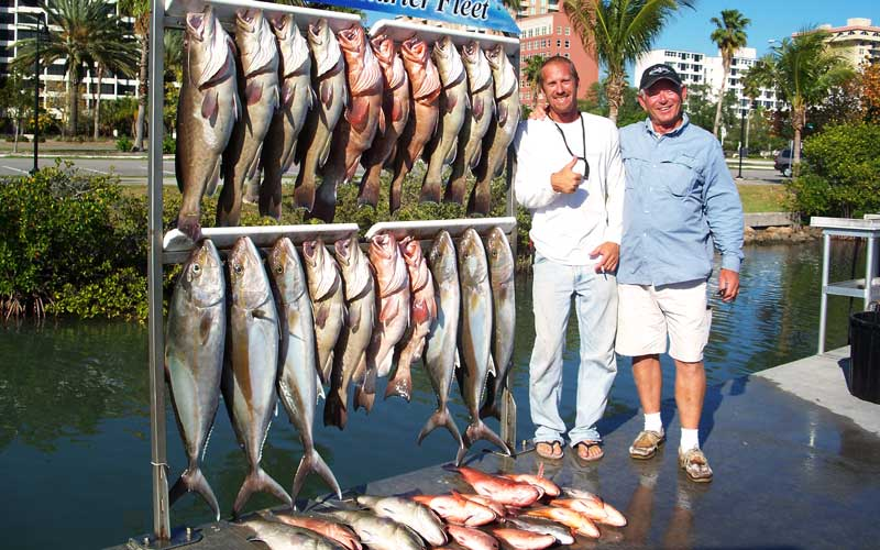 Book Your Sarasota Fishing Trip Today with Outriggers!