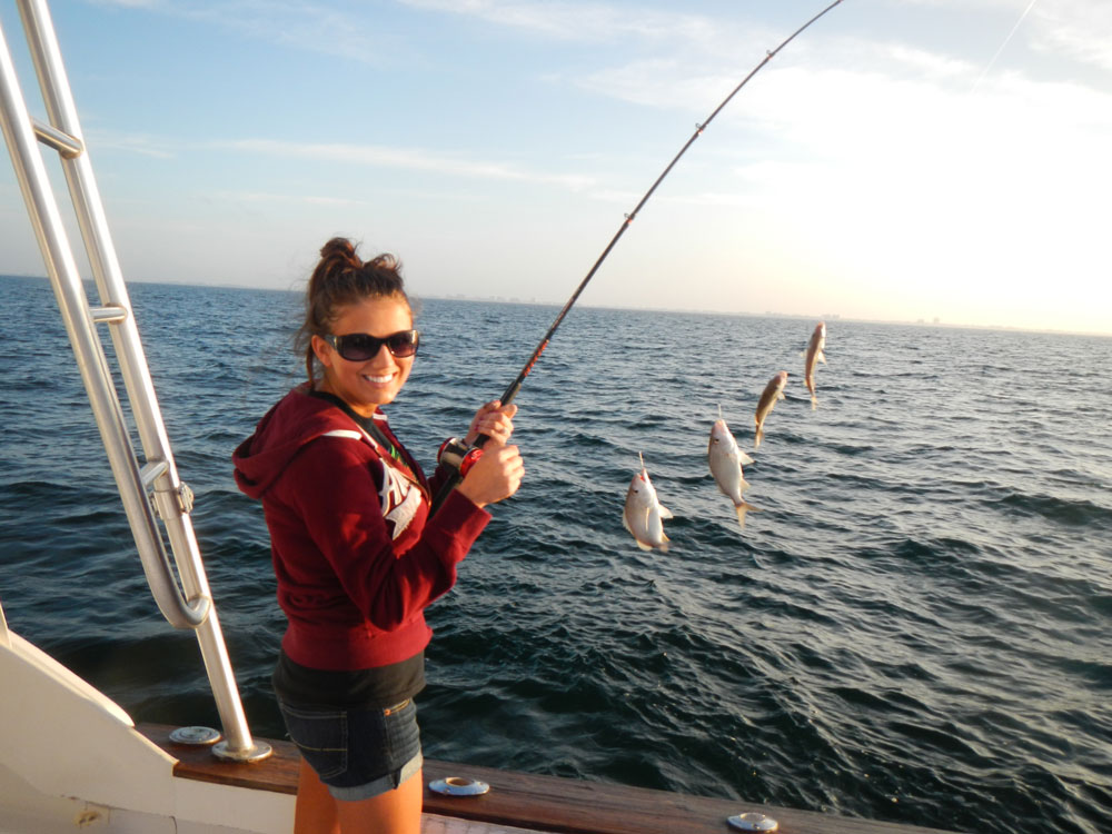 Sarasota charter fishing offshore gulf fishing trip charters for Sarasota fishing charters
